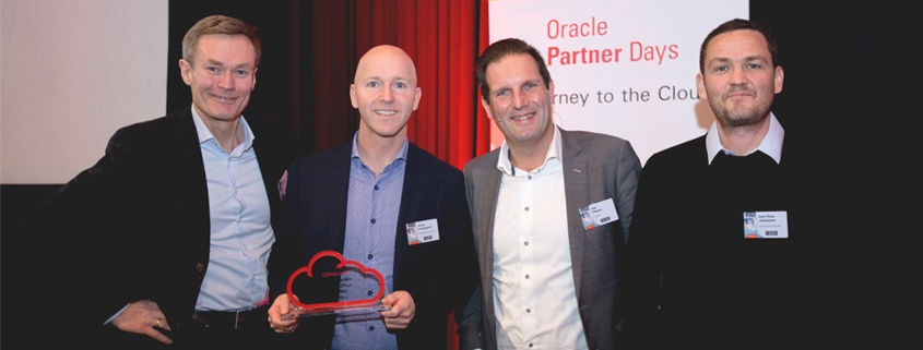 inlumi Norway wins Oracle Partner of the Year Cloud First