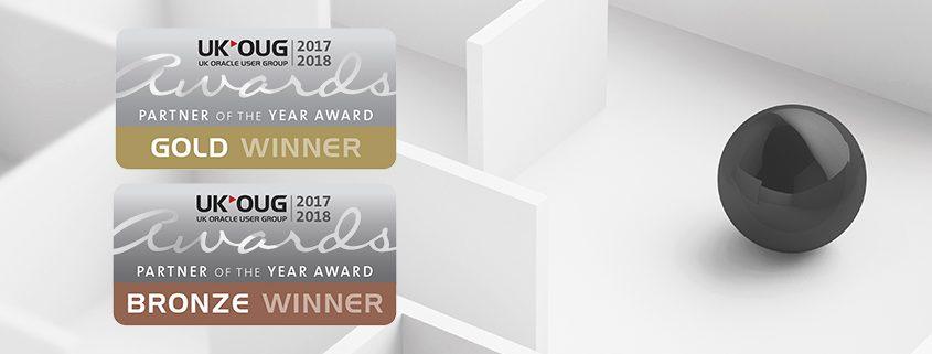 Inlumi awarded two UKOUG Partner of the year awards
